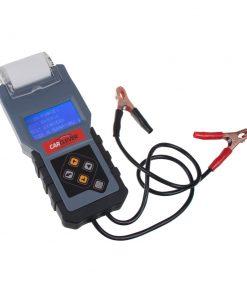 Tester akumulátorov s tlačiarňou 3v1 CARCLEVER 35908T