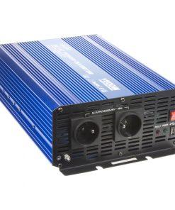 Sínusový menič napätia 12V na 230V, 1500W CARCLEVER 35psw1512