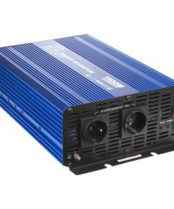 Sínusový menič napätia 24V na 230V, 1500W CARCLEVER 35psw1524