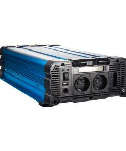 CarClever 35psw2512DD Sínusový menič napätia 12V na 230V, 2500W s displejom