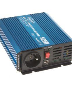 Sínusový menič napätia 12V na 230V, 400W CARCLEVER 35psw412