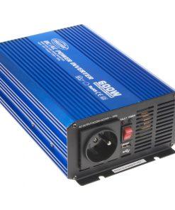 Sínusový menič napätia 12V na 230V, 600W CARCLEVER 35psw612