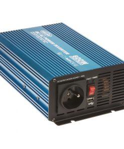Sínusový menič napätia 24V na 230V, 600W CARCLEVER 35psw624
