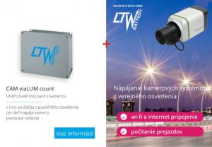 Batériový pack pre napájanie kamier a rozhlasu z verejného osvetlenia