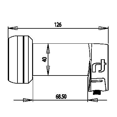 LNB INVERTO Black Ultra Single