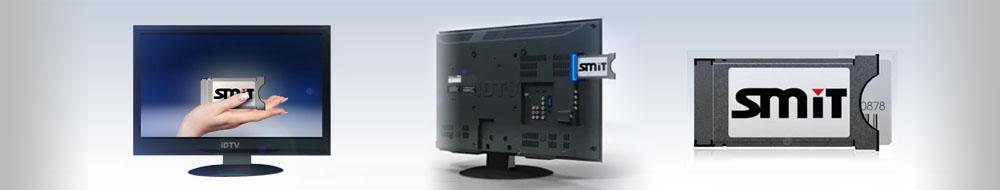 CA modul so Smart kartou pre TV prijímač