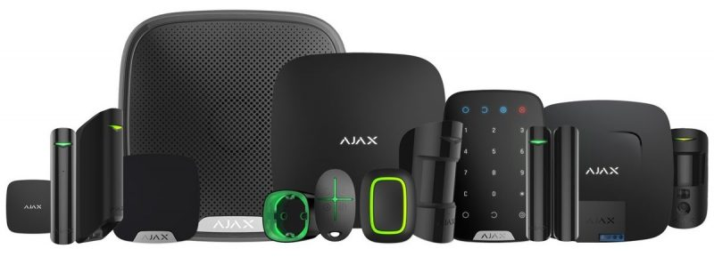 ALARM Zabezpečovací systém Ajax