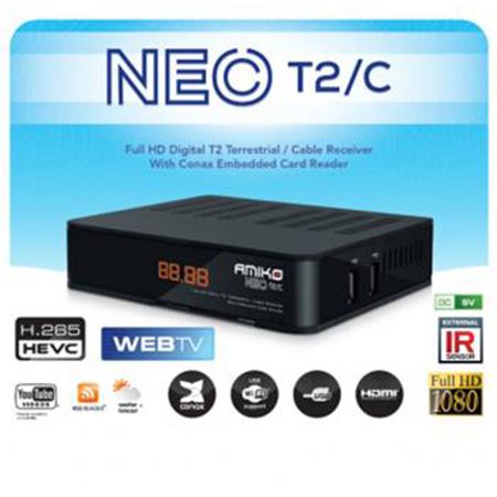 AMIKO NEO DVB-T2 DVB-C H.265