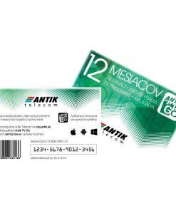 ANTIK TV GO voucher 12 mesiacov mobilna televizia